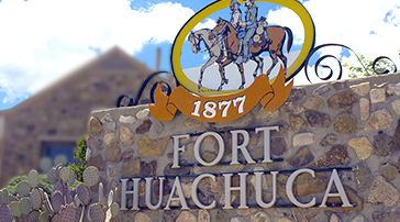 AZCAST location  in Fort Huachuca