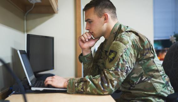 Army cyber operator